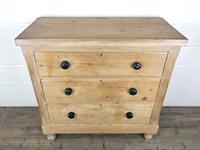 Antique Victorian Pine Chest of Drawers (3 of 9)
