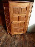 """Beaverman"" Oak Corner Cabinet (6 of 7)"