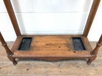 Antique Oak Hall Stand (6 of 11)