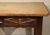 19th Century Provencal Prep Server Table Pine (4 of 5)