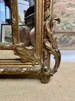 Large 19th Century French Gilt Mirror (7 of 8)