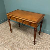 Quality Heal & Son Victorian Mahogany Antique Writing Table (3 of 8)