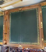 Victorian Brass-bound Walnut Writing Slope with Secret Drawers (15 of 39)