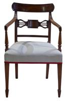 A Pair of Geo III Mahogany Elbow Chairs (5 of 8)