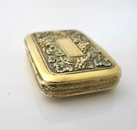 Wonderful cast silver-gilt vinaigrette Samuel Pemberton Birmingham 1816 (5 of 11)