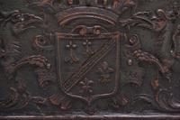 19th Century Carved Oak Log Box (2 of 11)