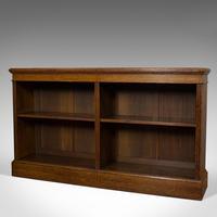 Large Antique Library Bookcase, Scottish, Oak, Bookshelf, Cabinet, Victorian (3 of 12)