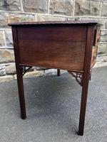 Antique Mahogany Writing Table (5 of 11)