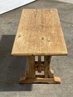 Great Rustic French Bleached Oak Coffee Table (11 of 25)