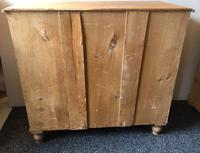 Stripped Pine Chest of Five Drawers (8 of 9)