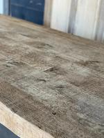 Superb Rustic Large Bleached Oak Farmhouse Table with Extensions (16 of 36)