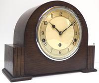 Fine Garrard Art Deco Mantel Clock 8 Day Westminster Chime Mantle Clock (7 of 11)