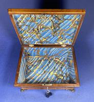 Regency Burr Maple  Jewellery Box With Inlay (5 of 16)