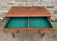 Antique Victorian Mahogany Side Table (12 of 17)
