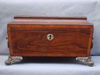 Regency Jewellery or Work Box
