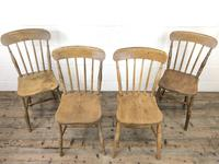 Set of Four Mix & Match Farmhouse Chairs (3 of 10)