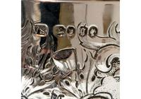 Mid 19th Century Antique Victorian Sterling Silver Wine Goblet London 1862 William Smiley (9 of 9)
