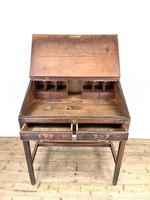 Antique Mahogany Clerk's Desk or Bureau (6 of 10)