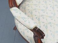 Antique Pair of French Rosewood Armchairs (15 of 19)