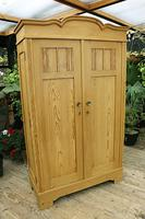 Fantastic! Old Pine 'Knock Down' Cupboard/ Wardrobe With Shelves - We Deliver! (11 of 14)