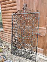 Large Iron Garden Gate (6 of 7)