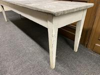Large 19th Century French Zinc Top Table (6 of 13)