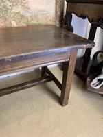 Late 19th Century Oak Farmhouse Table (3 of 7)