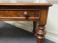 Fine Rare Burr Walnut Writing Table or Desk (12 of 20)