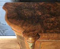 Victorian Burr Walnut Inlaid Credenza With Ormolu Mounts (12 of 27)