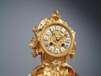 Louis XV Style Ormolu Mantel Clock by Raingo, Paris (4 of 16)