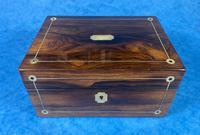 Rosewood Jewellery Box c.1830 (2 of 9)