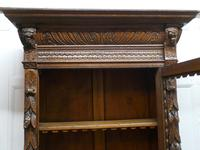 Pair of French Carved Gothic Oak Bookcases (12 of 12)