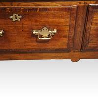 George III Long Oak Dresser Base (5 of 14)