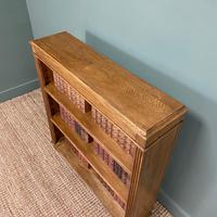 Quality Edwardian Oak Antique Open Bookcase (5 of 5)