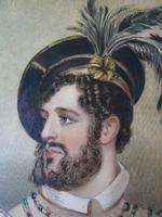 Fine 19thC Watercolour Portrait of Possibly Rob Roy McGregor ? (8 of 8)