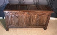 18th Century Oak Coffer (4 of 13)