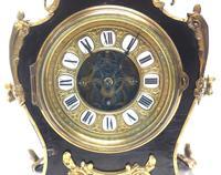 Fine French Ebony & Ormolu Boulle Mantel Clock – Farcot Skelton Dial 8 Day Mantle Clock (5 of 9)