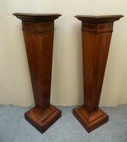 Pair of Mahogany Columns / Pedestals (3 of 6)