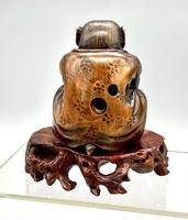 Signed Netsuke of a Monkey (4 of 8)