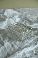 Victorian Hobnail Cut Glass Lidded Pot (11 of 12)