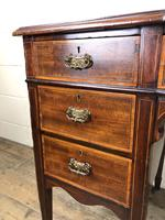 Edwardian Inlaid Mahogany Desk with Leather Top (11 of 11)