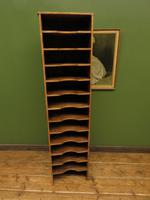 Antique Narrow Pine Pigeon Holes, Stationery or Haberdashery Display Shelves (3 of 10)