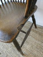 Early 19th C English Comb Back Windsor Chair (3 of 7)