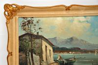 Antique Italian Landscape Oil Painting by Tardini (6 of 10)