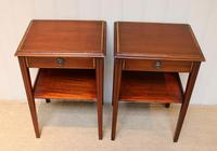 Pair of Edwardian Style Mahogany Tables (7 of 10)