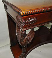 Empire Style Carved Mahogany Console Table (7 of 11)