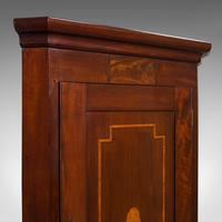 Antique Corner Cabinet, English, Mahogany, Walnut, Inlay, Georgian c.1800 (3 of 12)