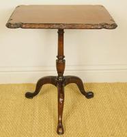 Georgian Regency Revival Mahogany Tripod Table c.1910 (4 of 5)