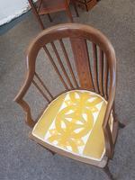 Edwardian Inlaid Tub Chair (5 of 7)
