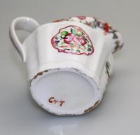 Very Pretty New Hall Porcelain Floral Jug c.1790 (8 of 8)